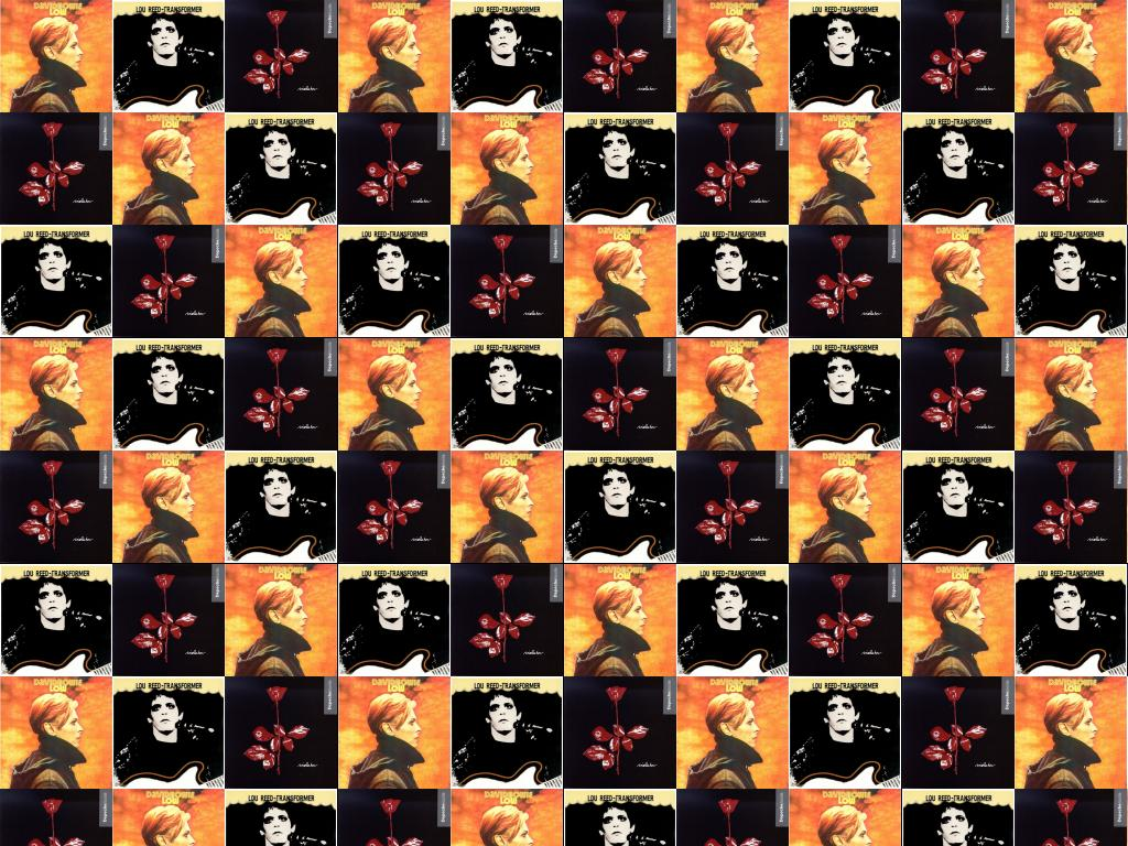 David Bowie Low Lou Reed Transformer Depeche Mode Wallpaper