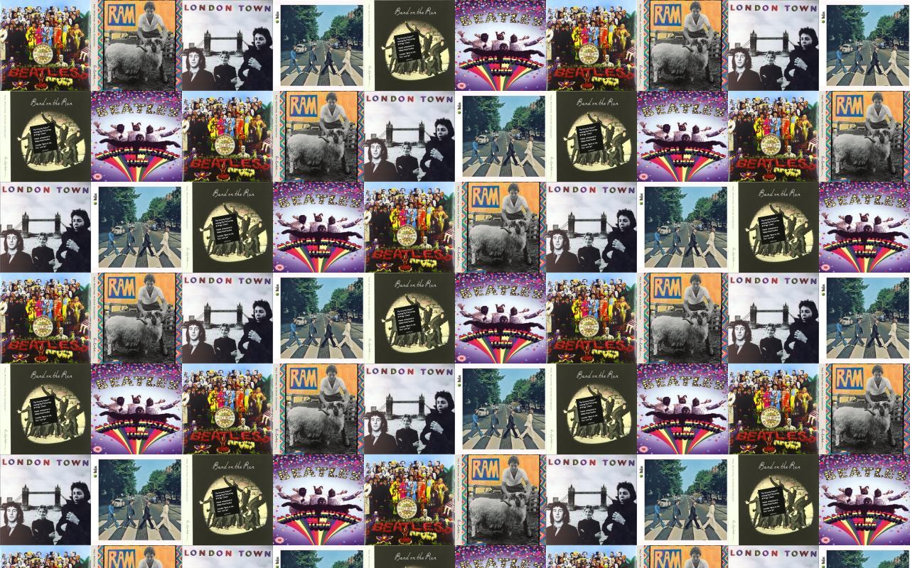 Beatles Sgt Pepper Paul Mccartney Ram Wings Wallpaper