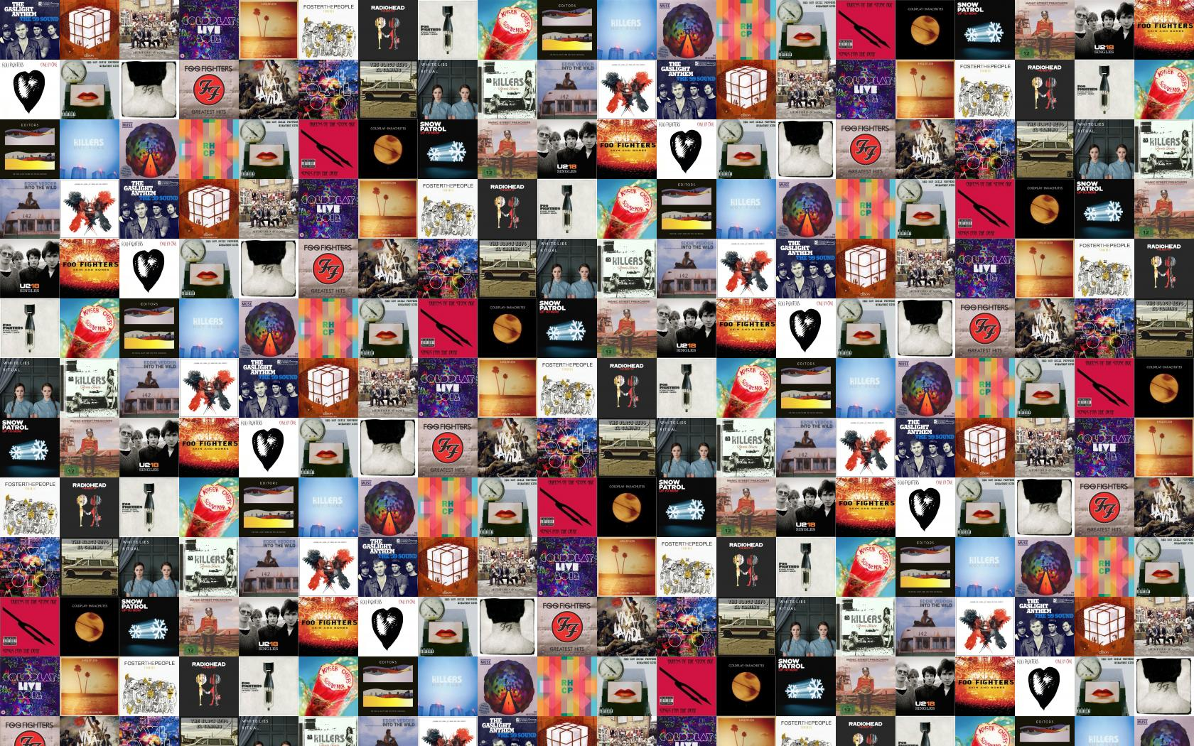 Download This Free Wallpaper With Images Of Gaslight Anthem 59 Sound Elbow The Seldom Kid MumFord Sons Babel Coldplay Live 2012 Kings Leon