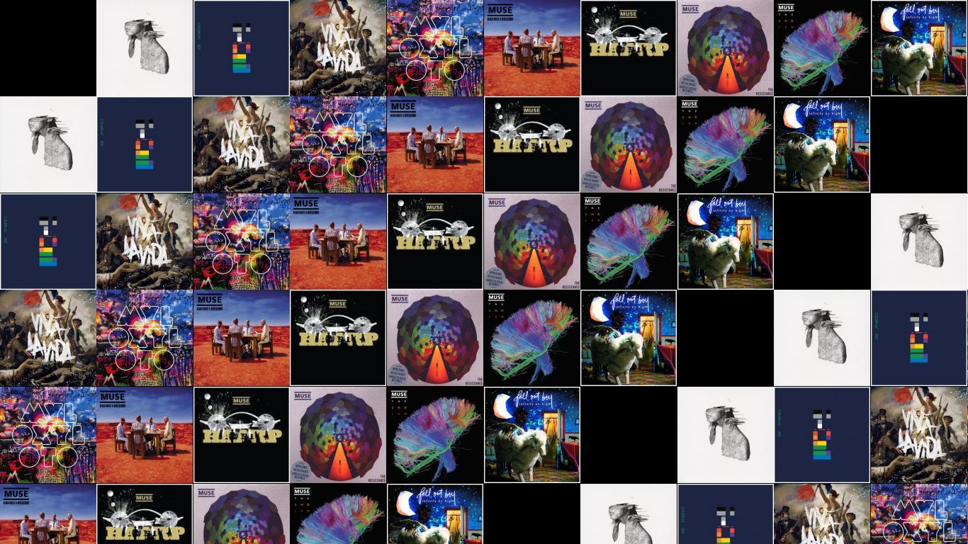 Coldplay Parachutes Rush Blood To Head X&Y Viva Wallpaper