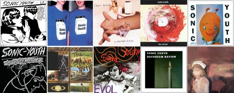 Sonic Youth Goo Washing Machine Thousand Leaves Eternal