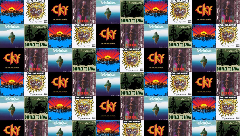 Tribal Seeds Harvest Sublime 40 Oz To Freedom Wallpaper Tiled