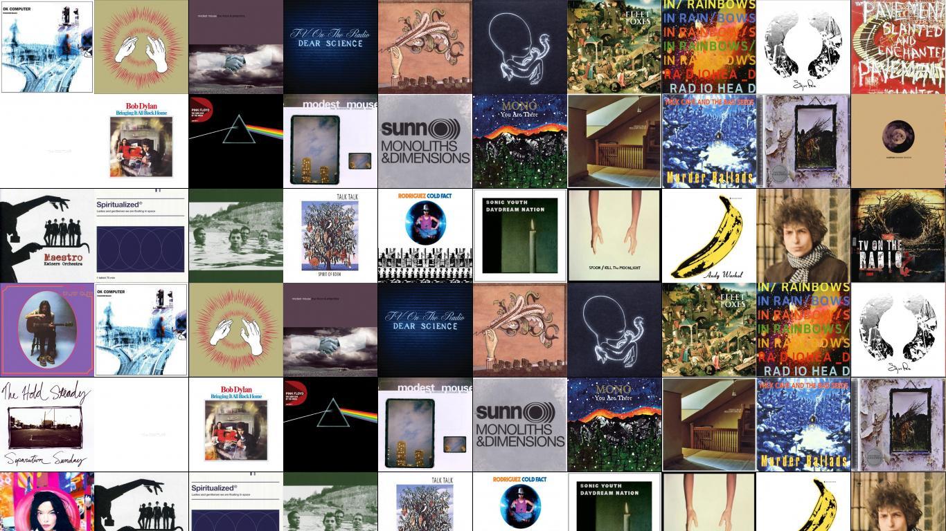 Godspeed You Black Emperor Tiled Desktop Wallpaper