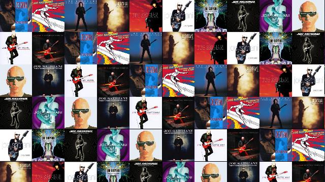 Joe Satriani Not This Earth Surfing With Alien Wallpaper ...