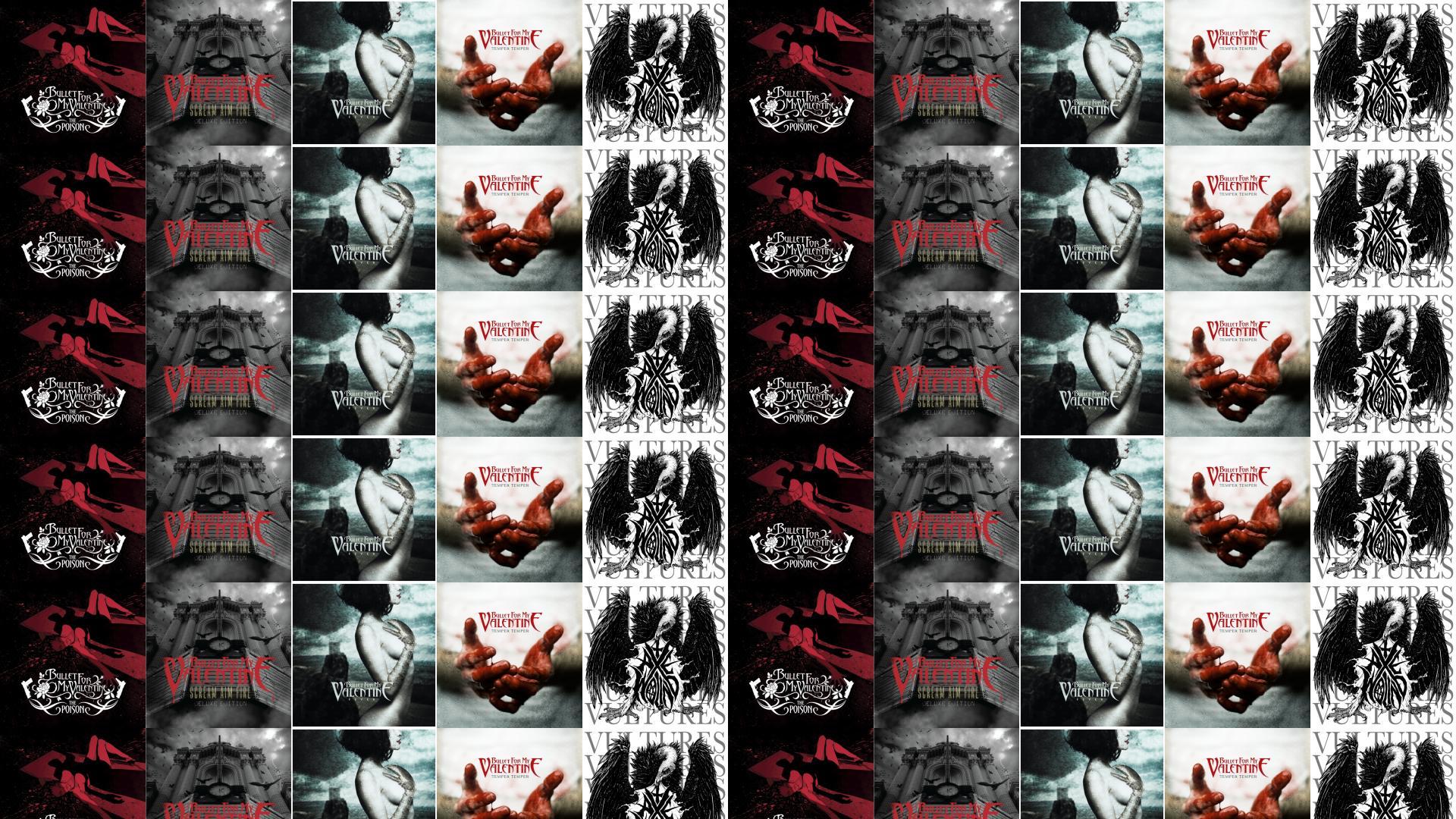 Bullet For My Valentine The Poison Scream Aim Wallpaper « Tiled Desktop  Wallpaper