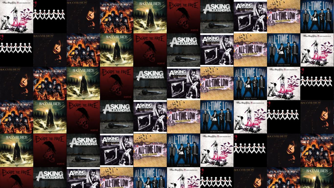 Three Days Grace Life Starts Now One X Wallpaper Tiled Desktop Wallpaper