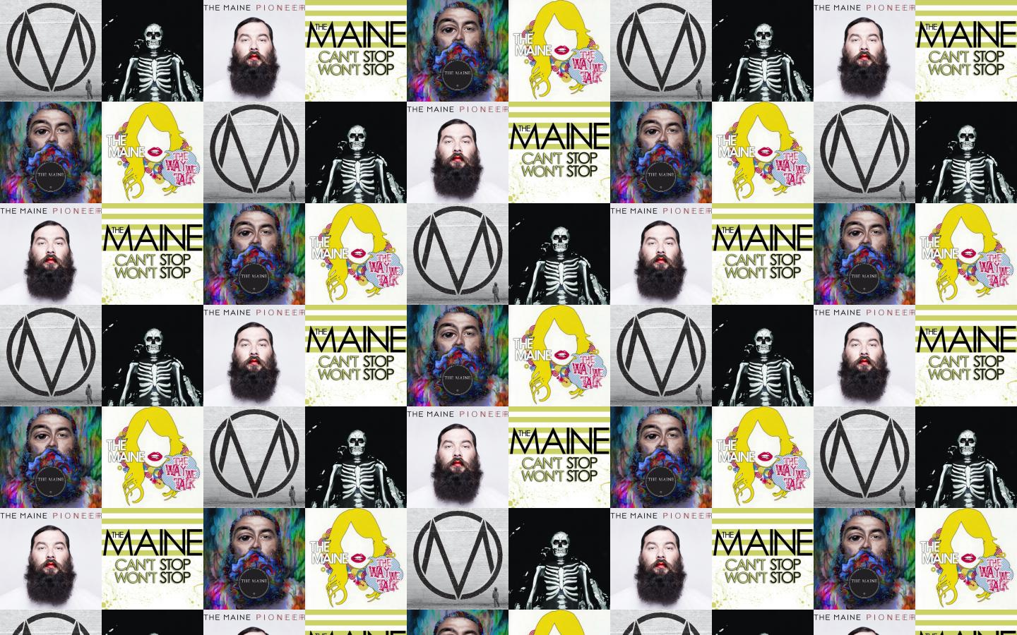 the maine black white forever halloween pioneer cant wallpaper