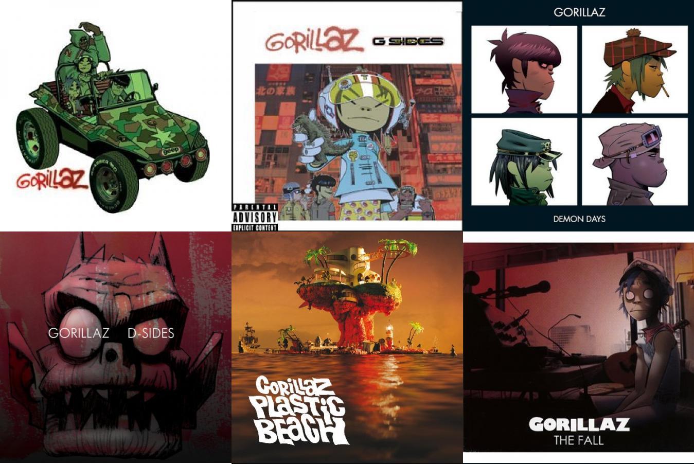 Gorillaz d sides - photo#20