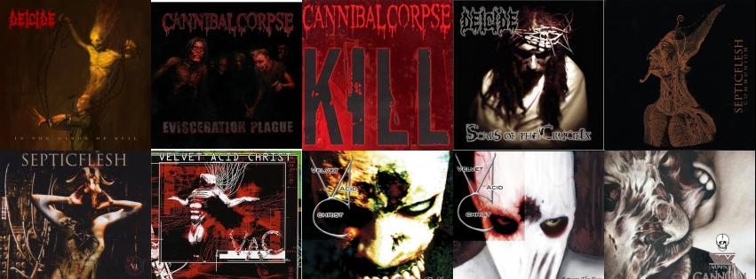 Deicide In The Minds Of Evil Cannibal Corpse Wallpaper Tiled