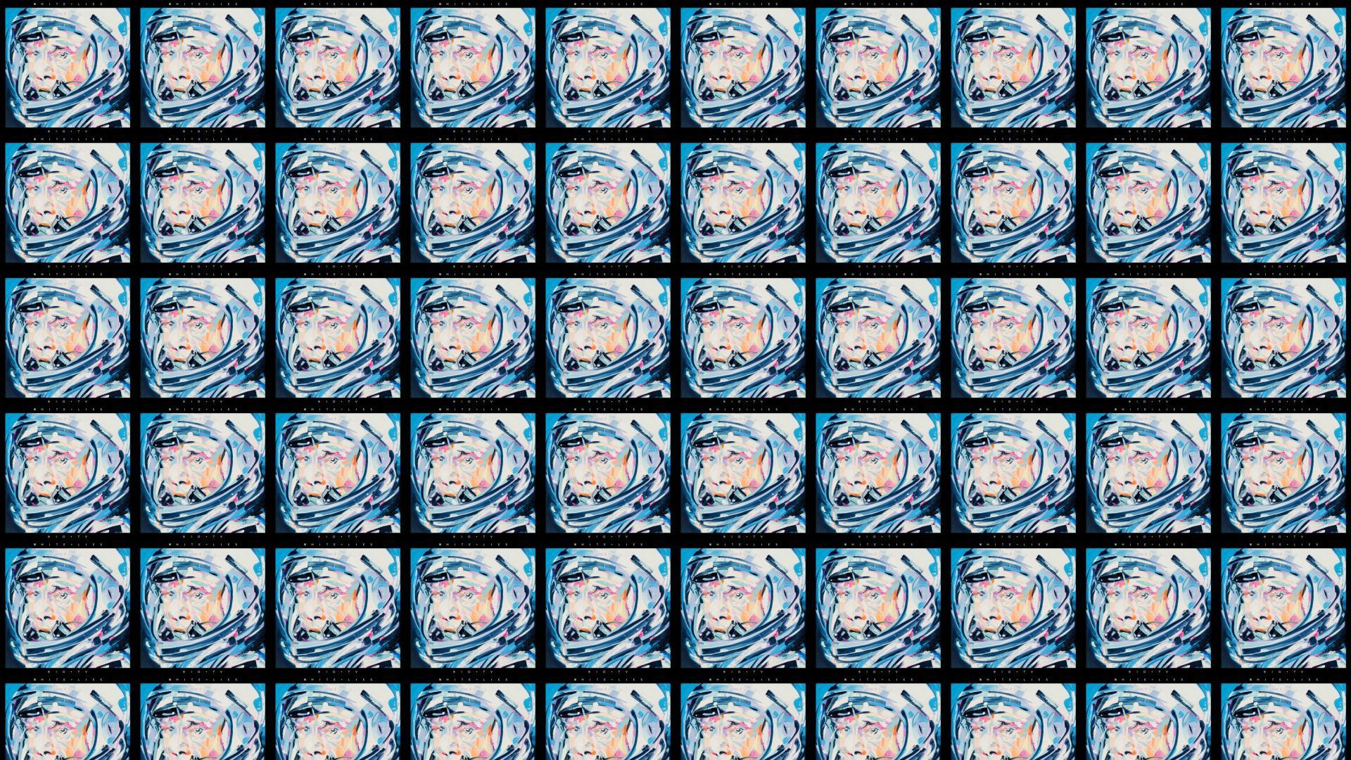 White Lies White Lies Wallpaper Tiled Desktop Wallpaper