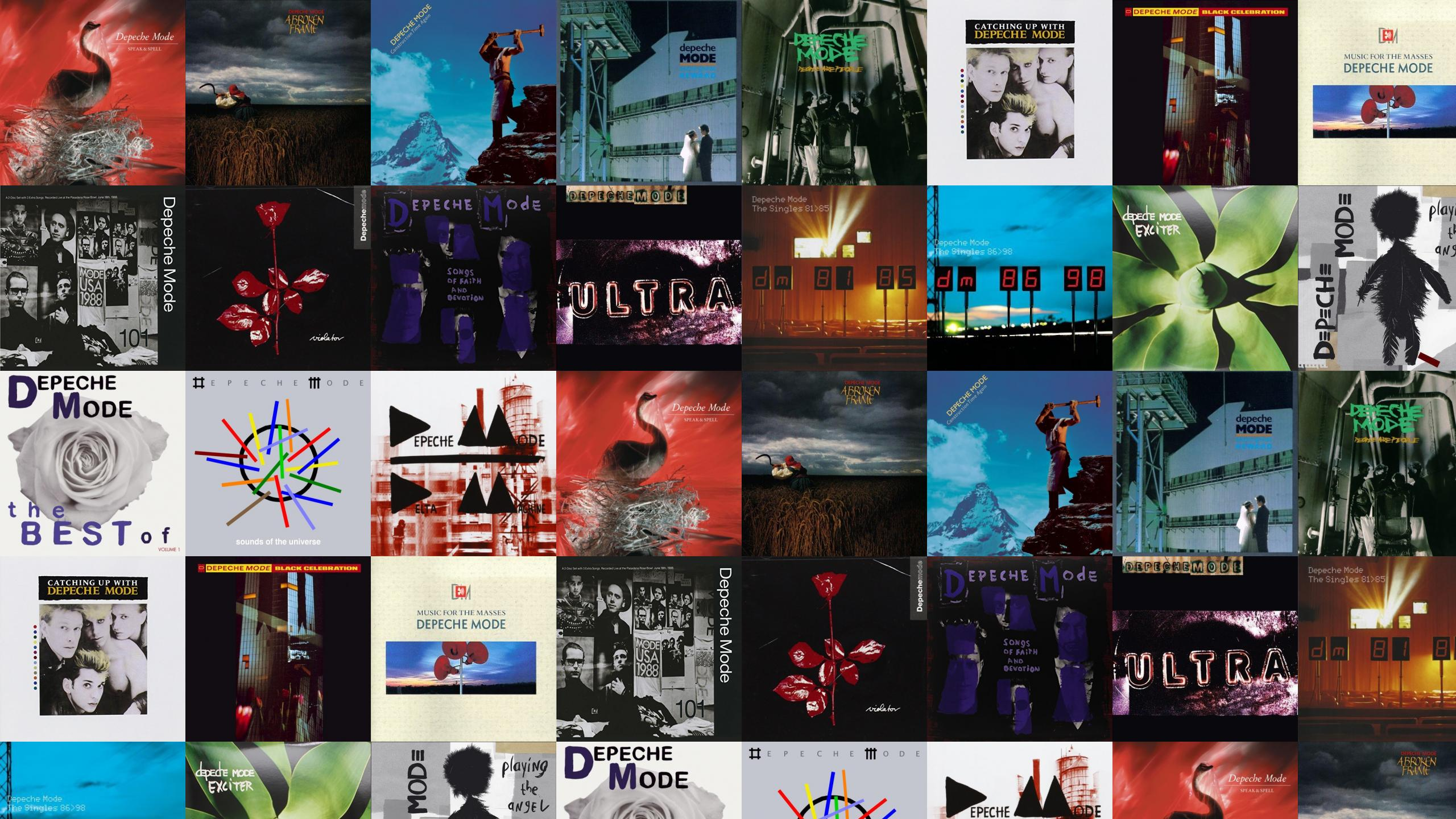 depeche mode all albums download