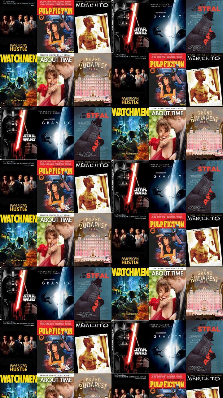 American Hustle Pulp Fiction Memento Star Wars Episode Wallpaper