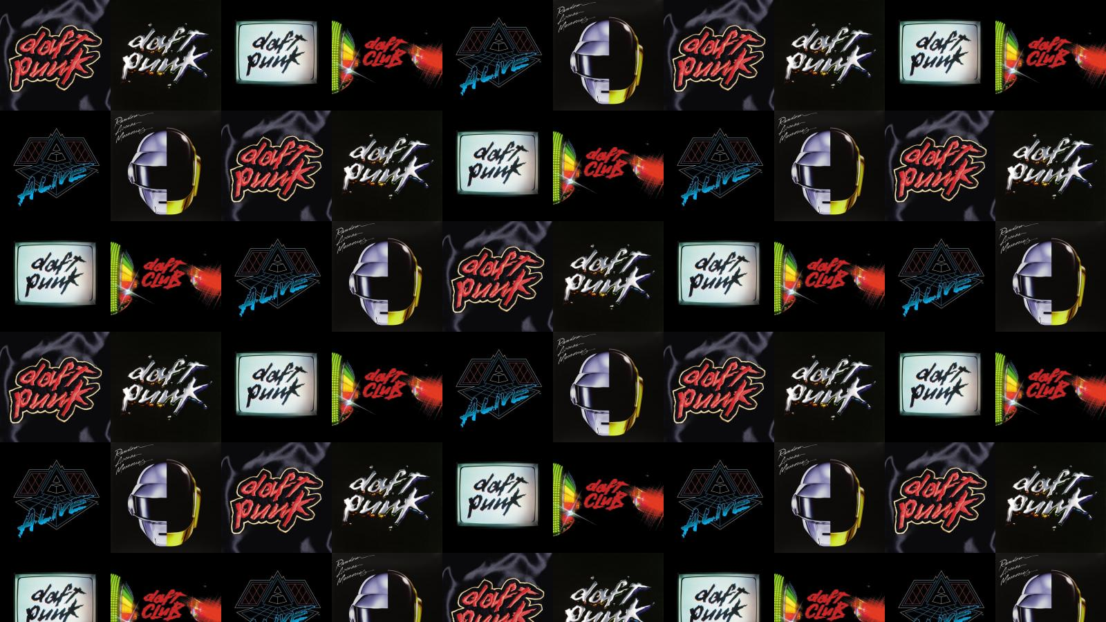Daft Punk Homework Discovery Human After All Wallpaper Tiled Desktop