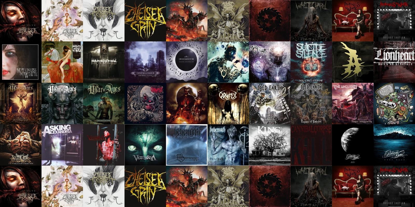 Chelsea Grin Evolve My...