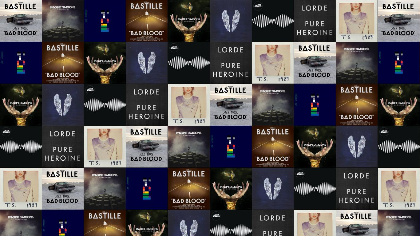 Bastille All This Bad Blood Imagine Dragons Night Wallpaper Tiled Desktop