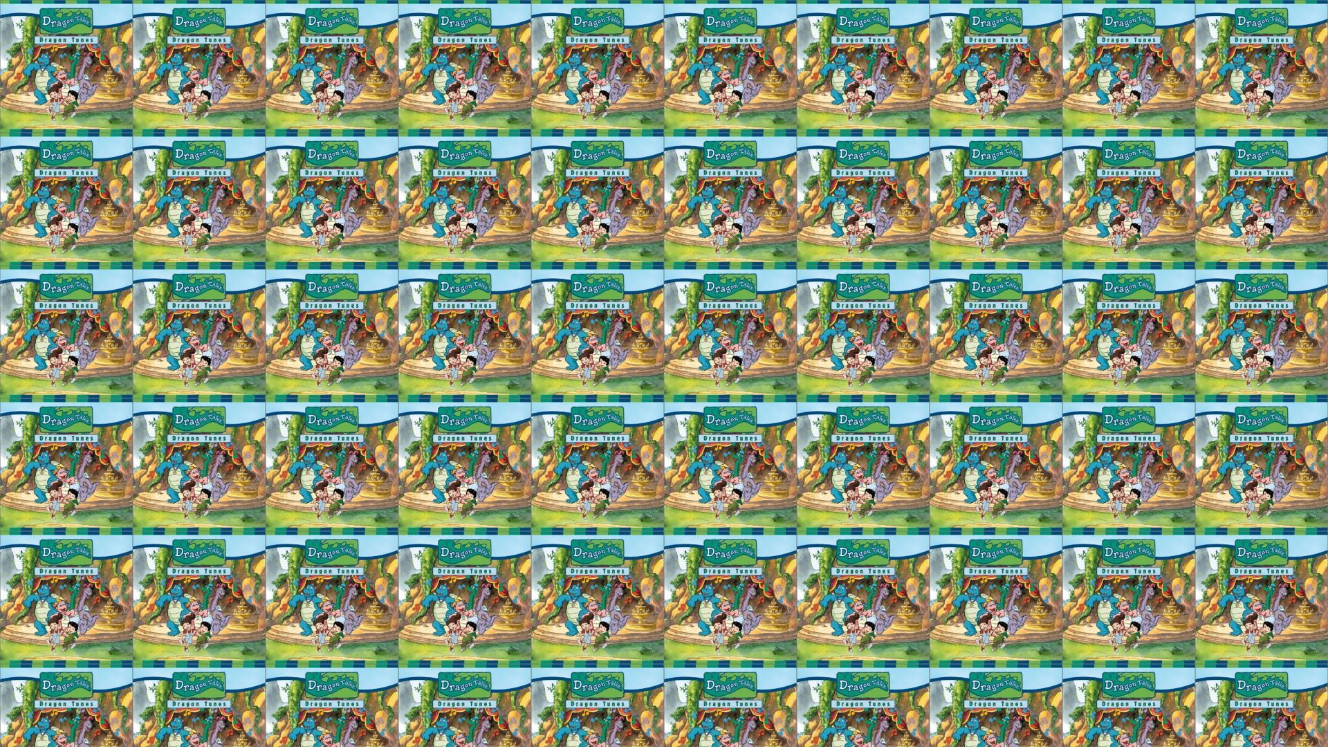 Dragon Tales Dragon Tunes Wallpaper Tiled Desktop Wallpaper