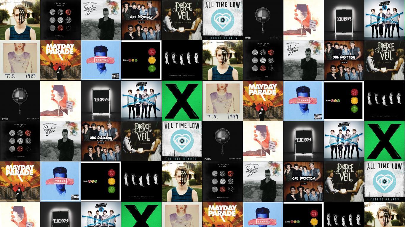 Fall Out Boy American Beauty Twenty One Pilots Wallpaper Tiled Desktop