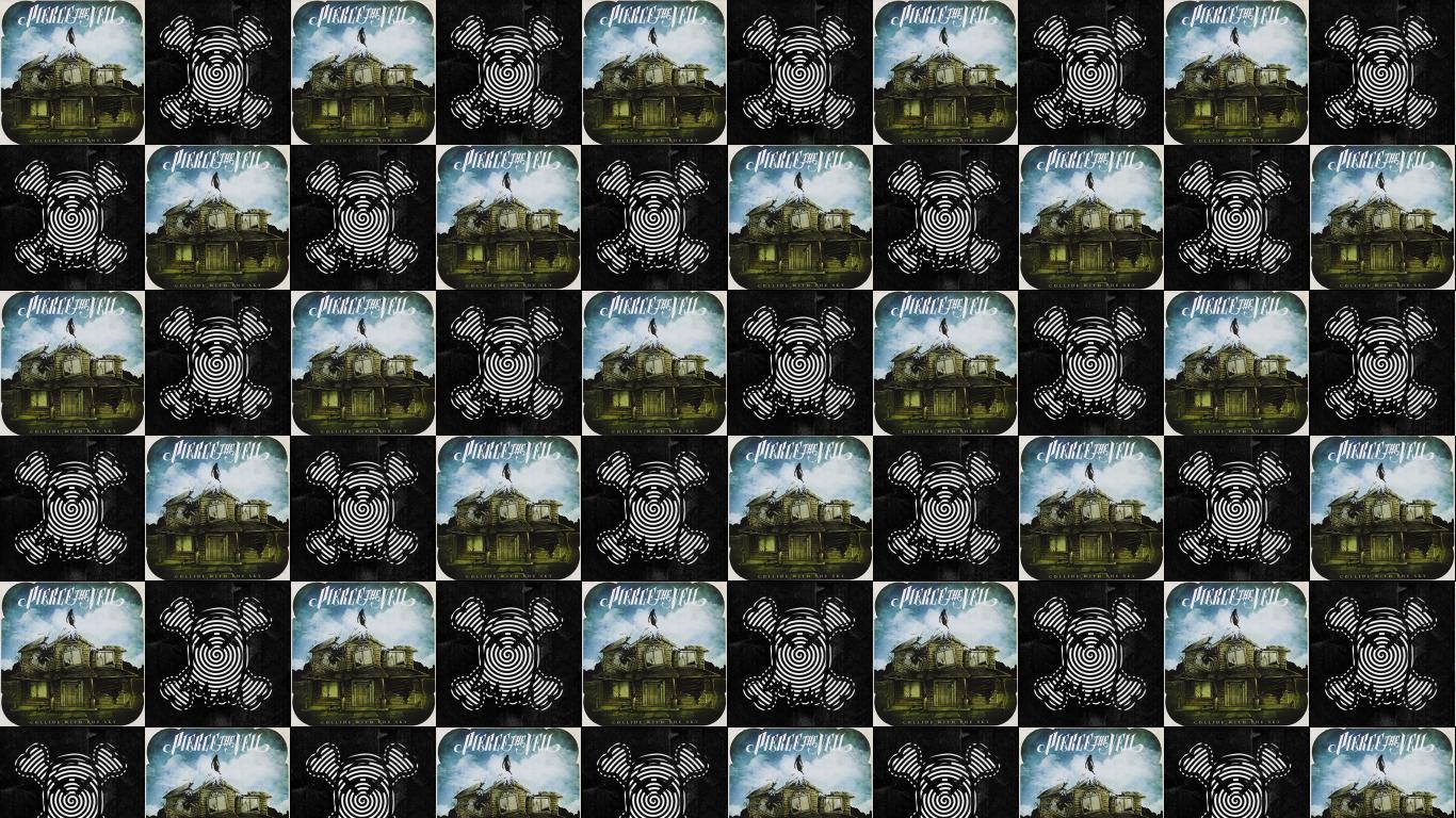 ghost town « tiled desktop wallpaper