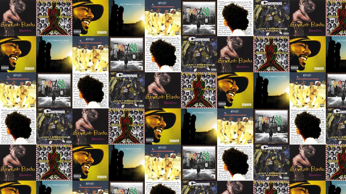Erykah Badu Baduizm A Tribe Called Quest Wallpaper Tiled Desktop