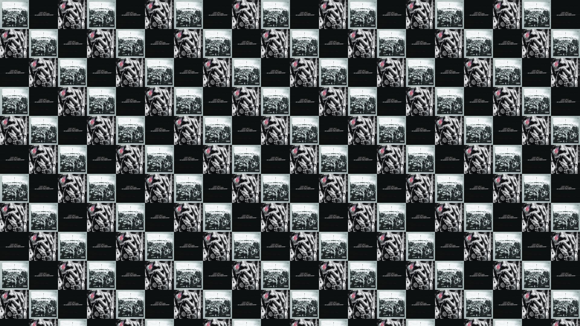 Kendrick Lamar To Pimp A Butterfly Earl Sweatshirt Wallpaper Tiled Desktop