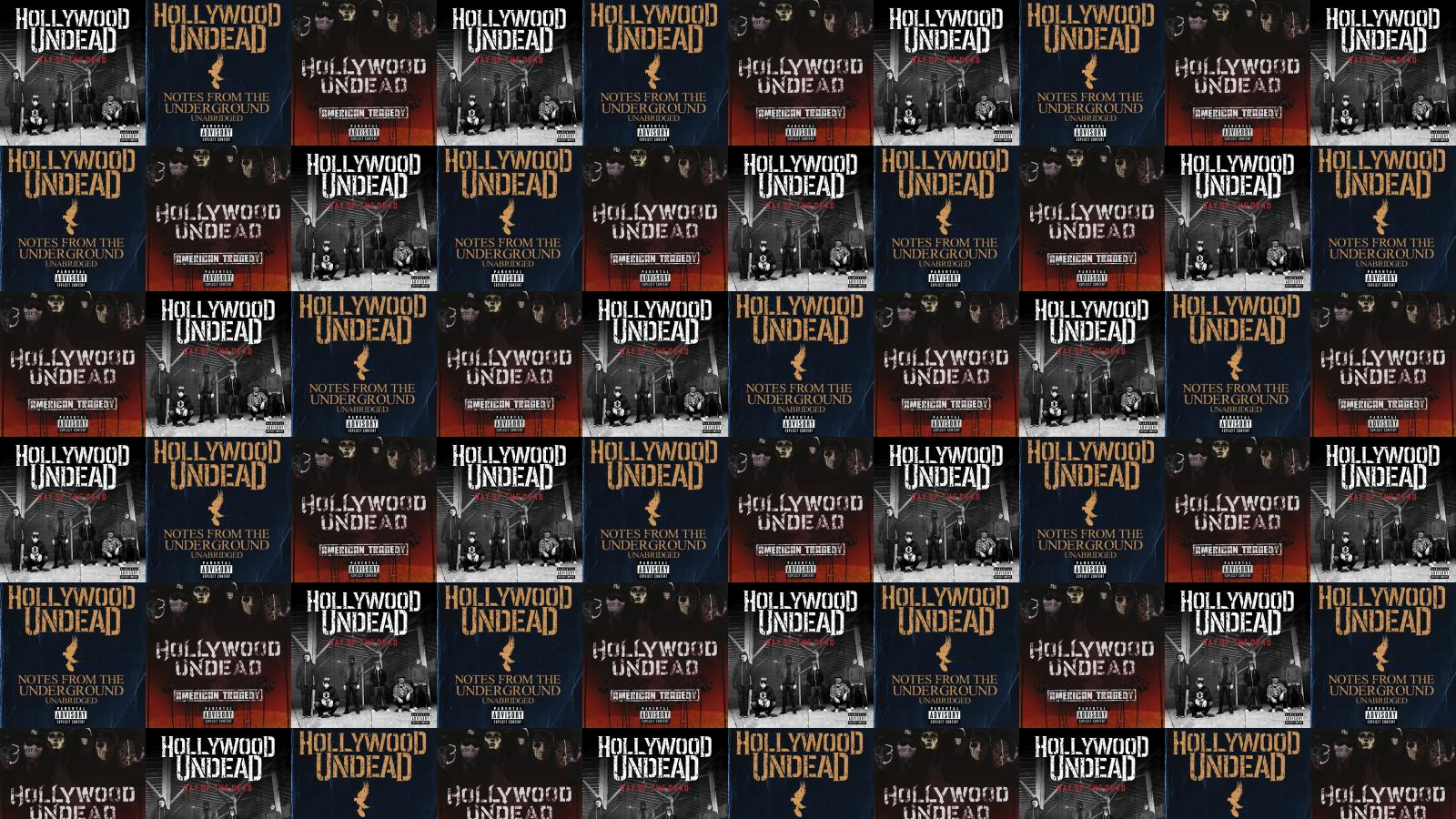 Hollywood Undead Day Dead Notes From Underground Deluxe Wallpaper Tiled Desktop