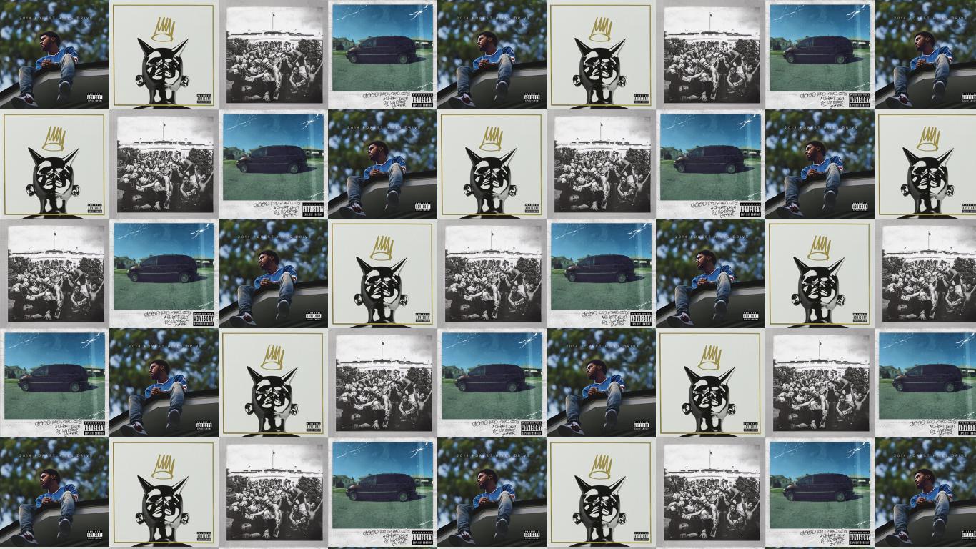 J Cole 2014 Forest Hills Drive Born Sinner Wallpaper