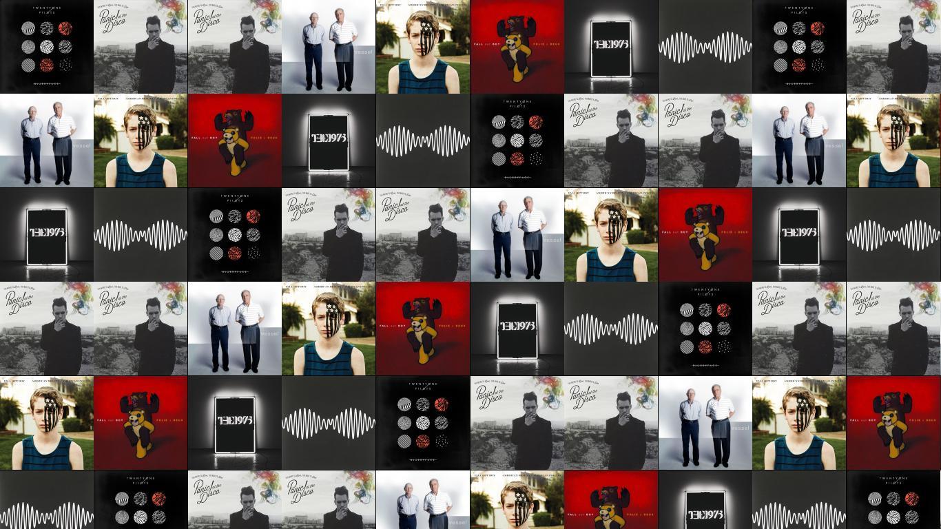 Twenty One Pilots Blurryface Panic At Disco To Wallpaper Tiled Desktop