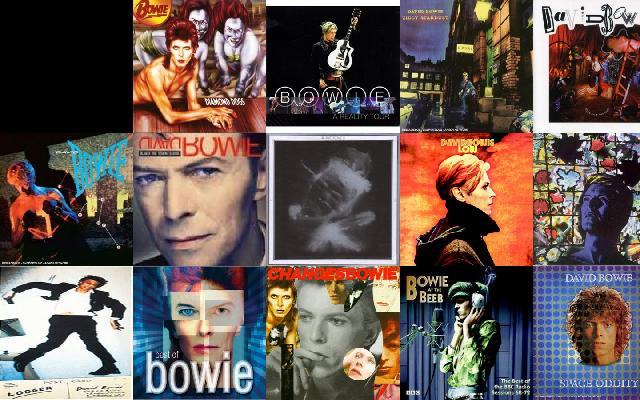 Albums Tiled Desktop Wallpaper