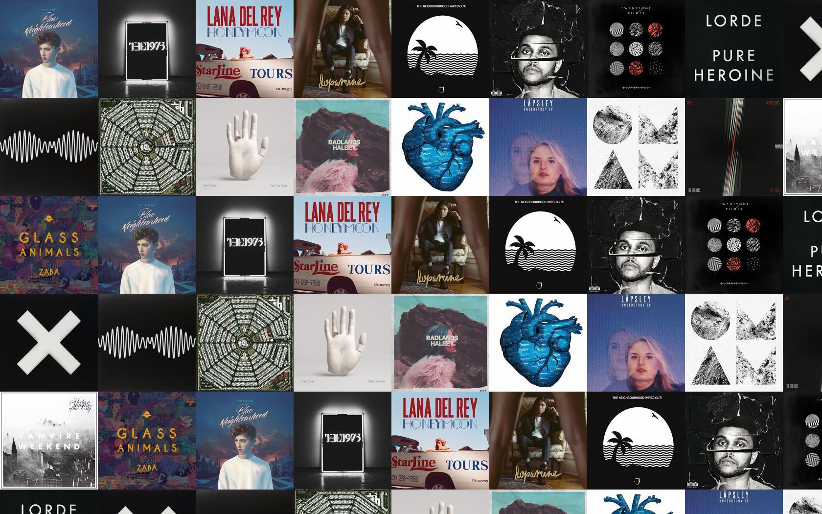 Troye Sivan Blue Neighborhood 1975 Lana Del Wallpaper Tiled Desktop