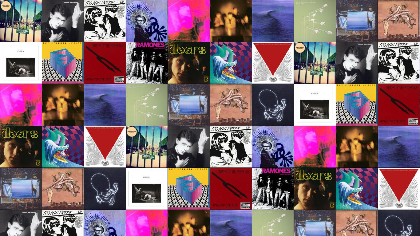 Tame Impala Lonerism David Bowie Heroes Sonic Youth Wallpaper
