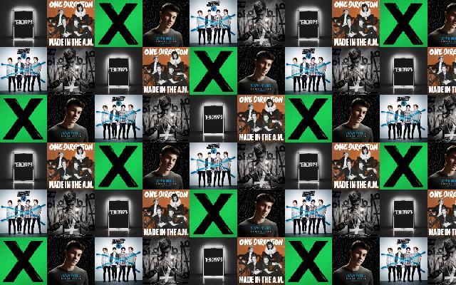 Shawn Mendes 171 Tiled Desktop Wallpaper