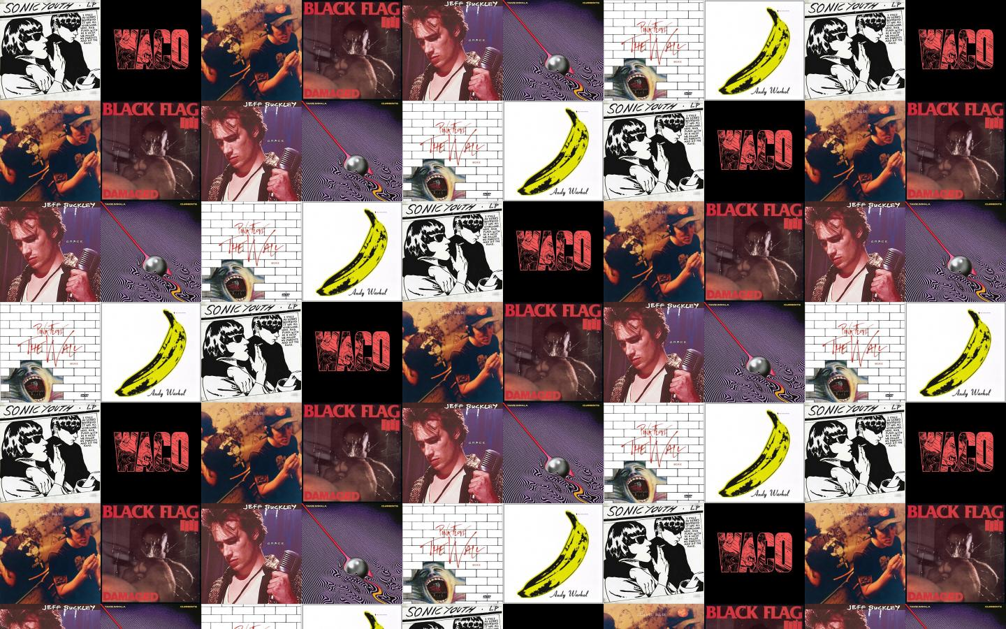 Sonic Youth Goo Violent Soho Waco Elliot Smith Wallpaper Tiled