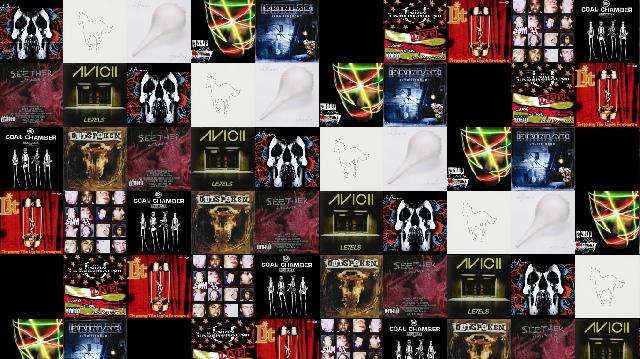 coal chamber 171 tiled desktop wallpaper