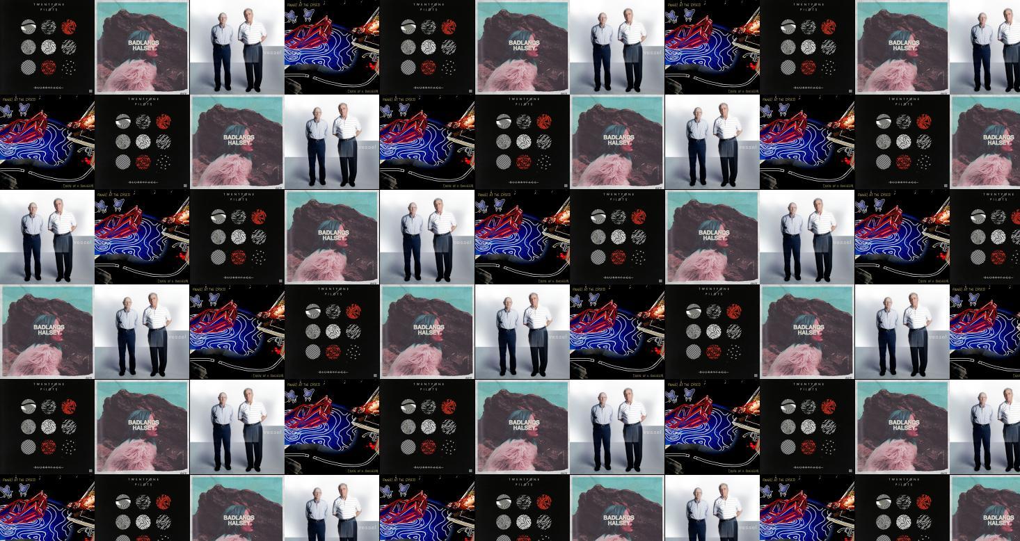 Twenty One Pilots Blurryface Halsey Badlands Vessel Panic Wallpaper Tiled Desktop