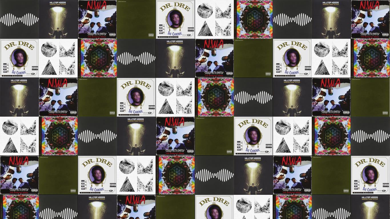 Arctic Monkeys Hilltop Hoods Nwa Straight Wallpaper
