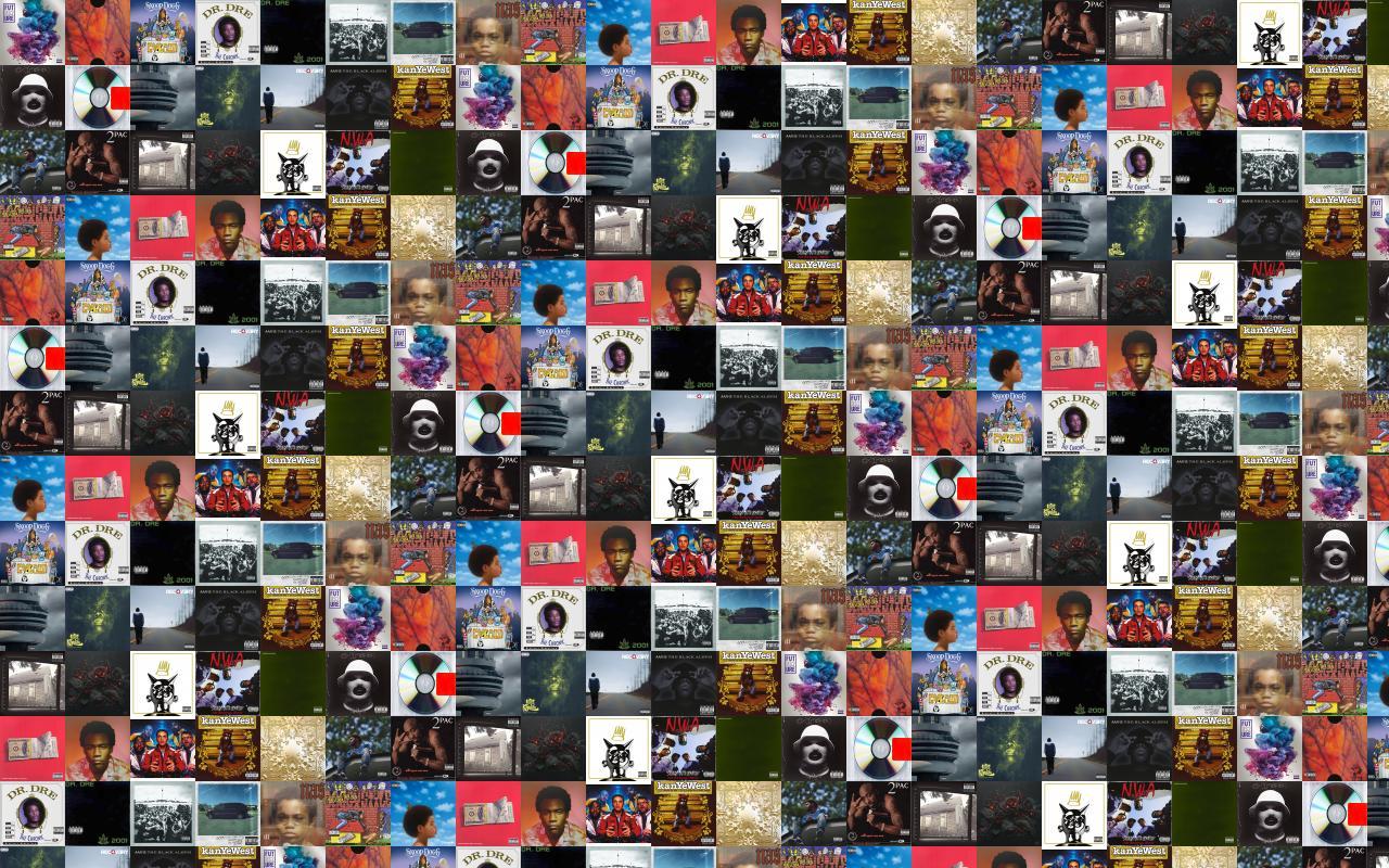 Eminem Tiled Desktop Wallpaper