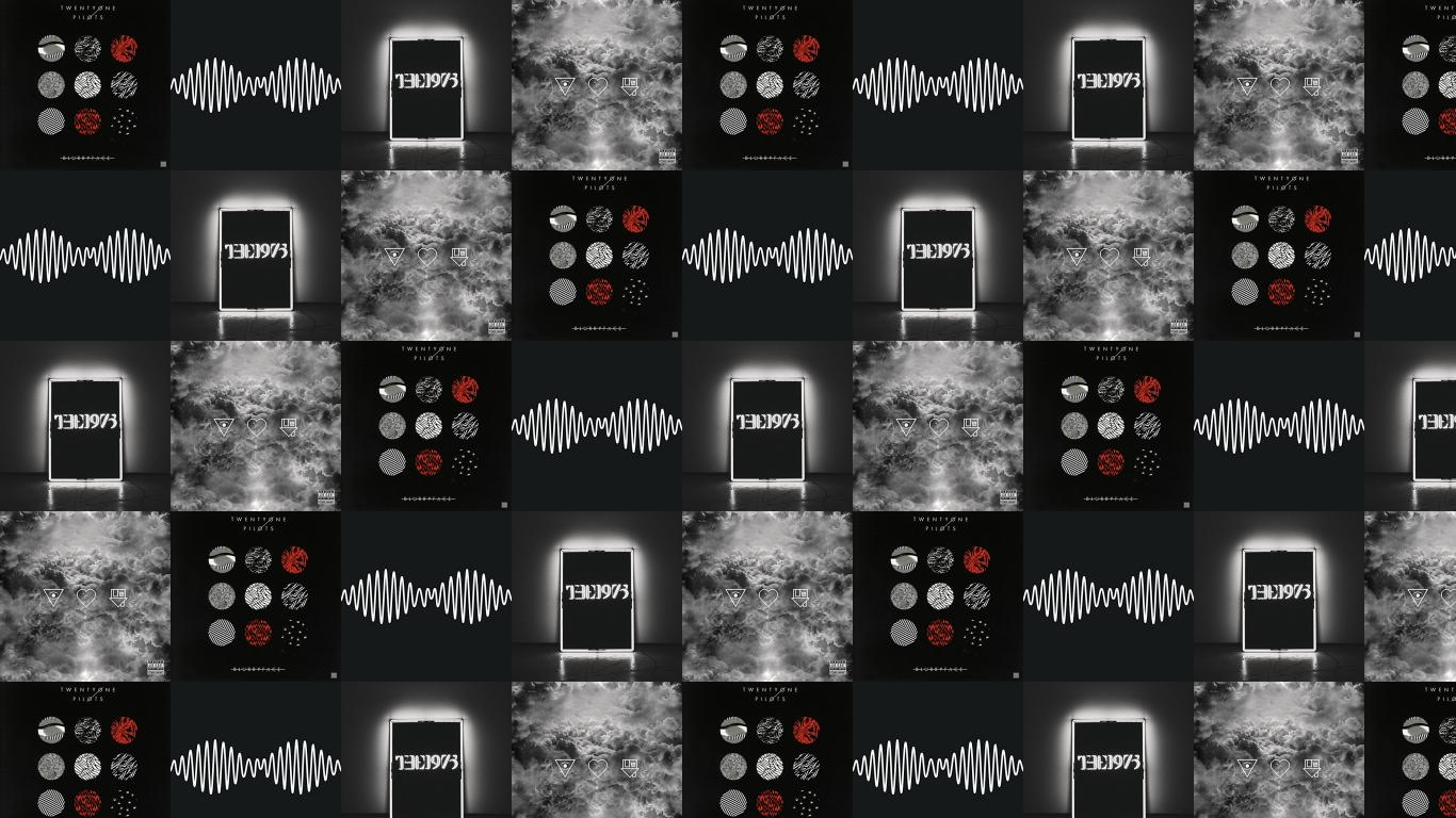 Twenty One Pilots Blurryface Arctic Monkeys Am The Wallpaper Tiled