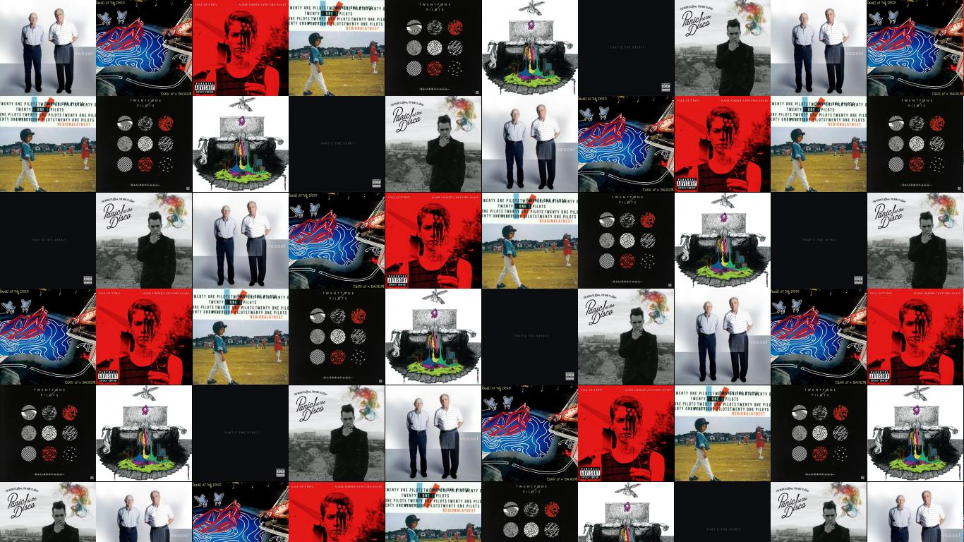 Twenty One Pilots Vessel Panic At Disco Death Wallpaper Tiled Desktop