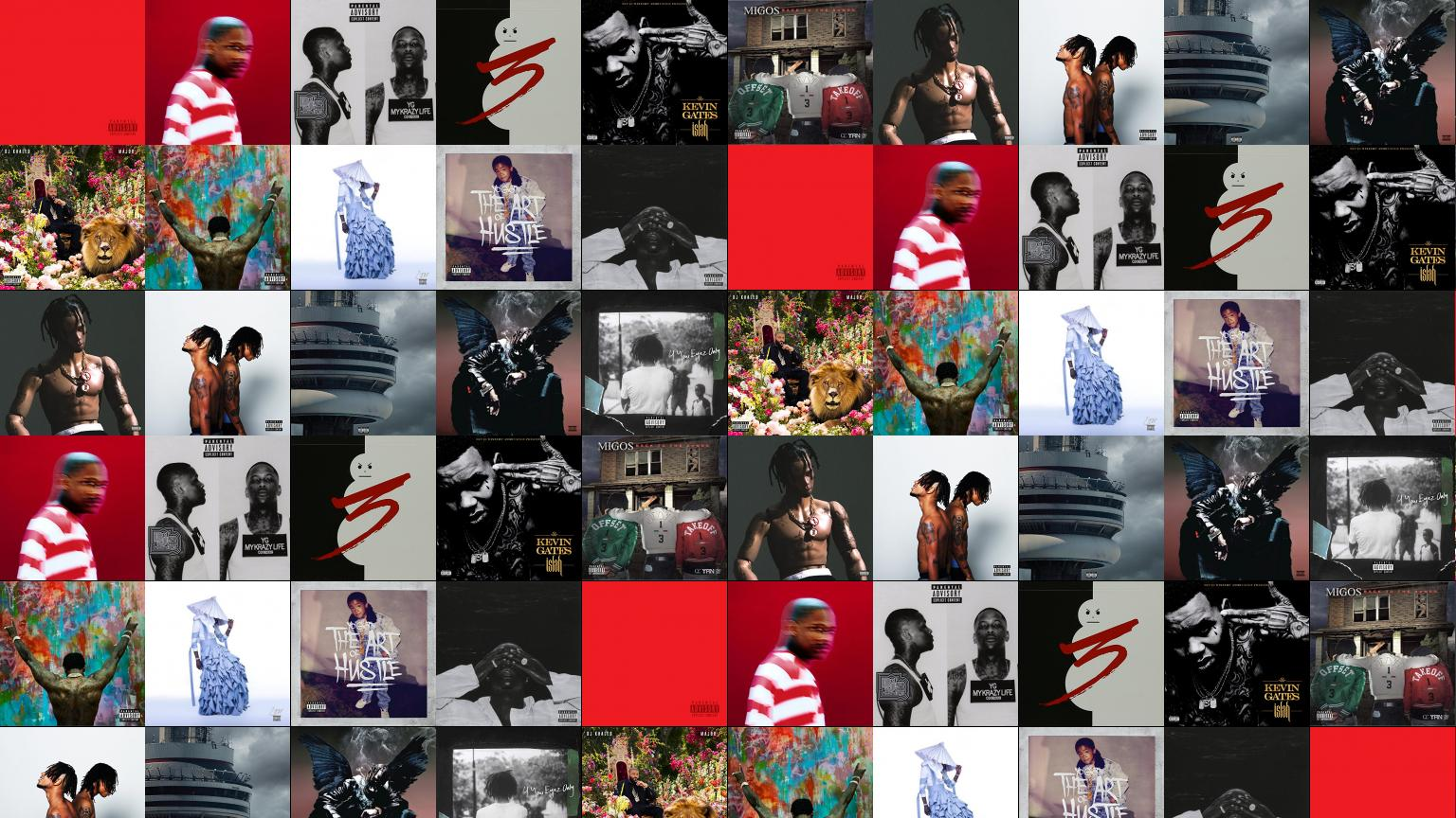 YG Red Friday Still Brazy My Krazy Life Wallpaper « Tiled