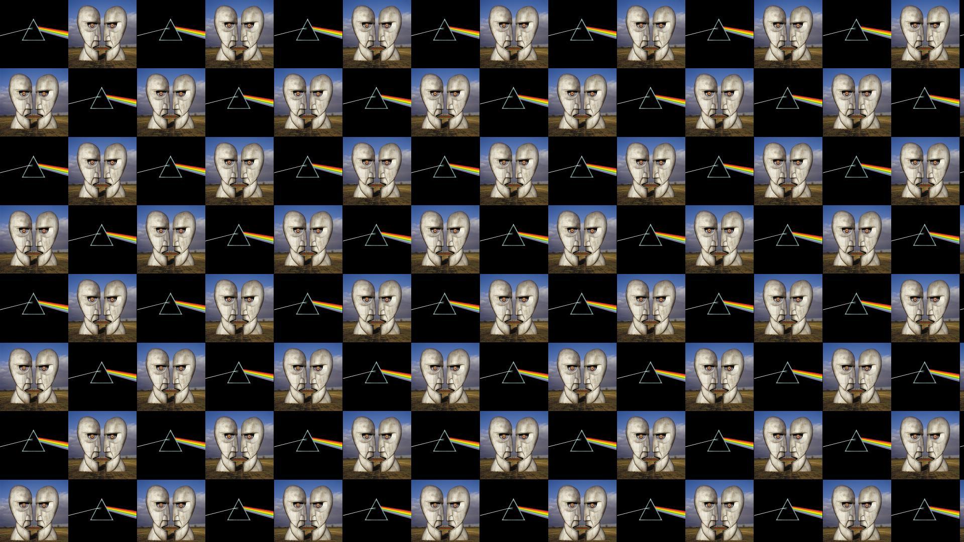 Pink Floyd Dark Side Moon Division Bell Wallpaper Tiled Desktop