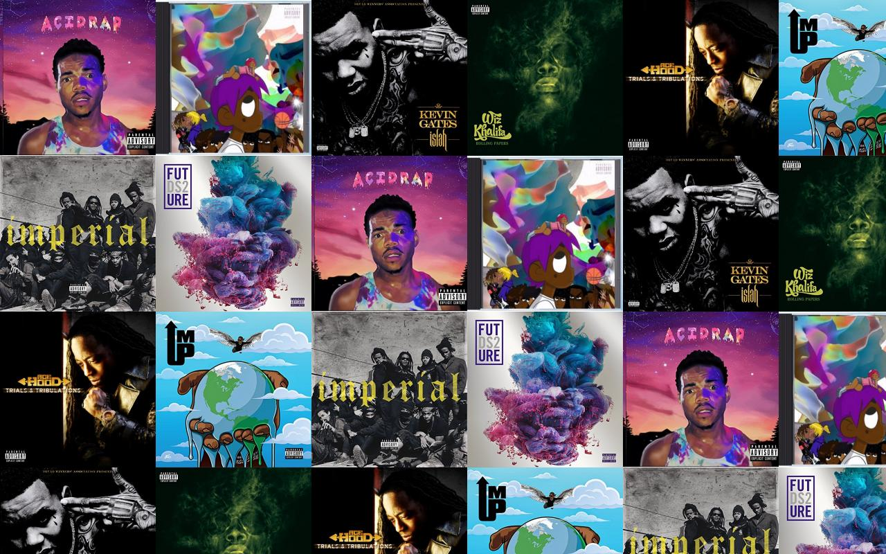 Chance Rapper Acid Rap Lil Uzi Vert Wallpaper Tiled Desktop Wallpaper
