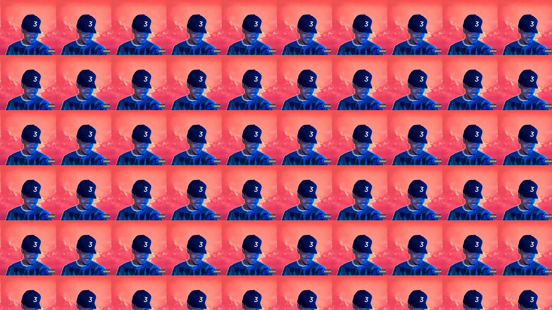 Chance Rapper Coloring Book Wallpaper Tiled Desktop Wallpaper