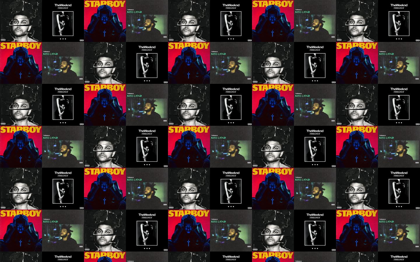 The Weeknd Beauty Behind Madness Trilogy Wallpaper Tiled Desktop