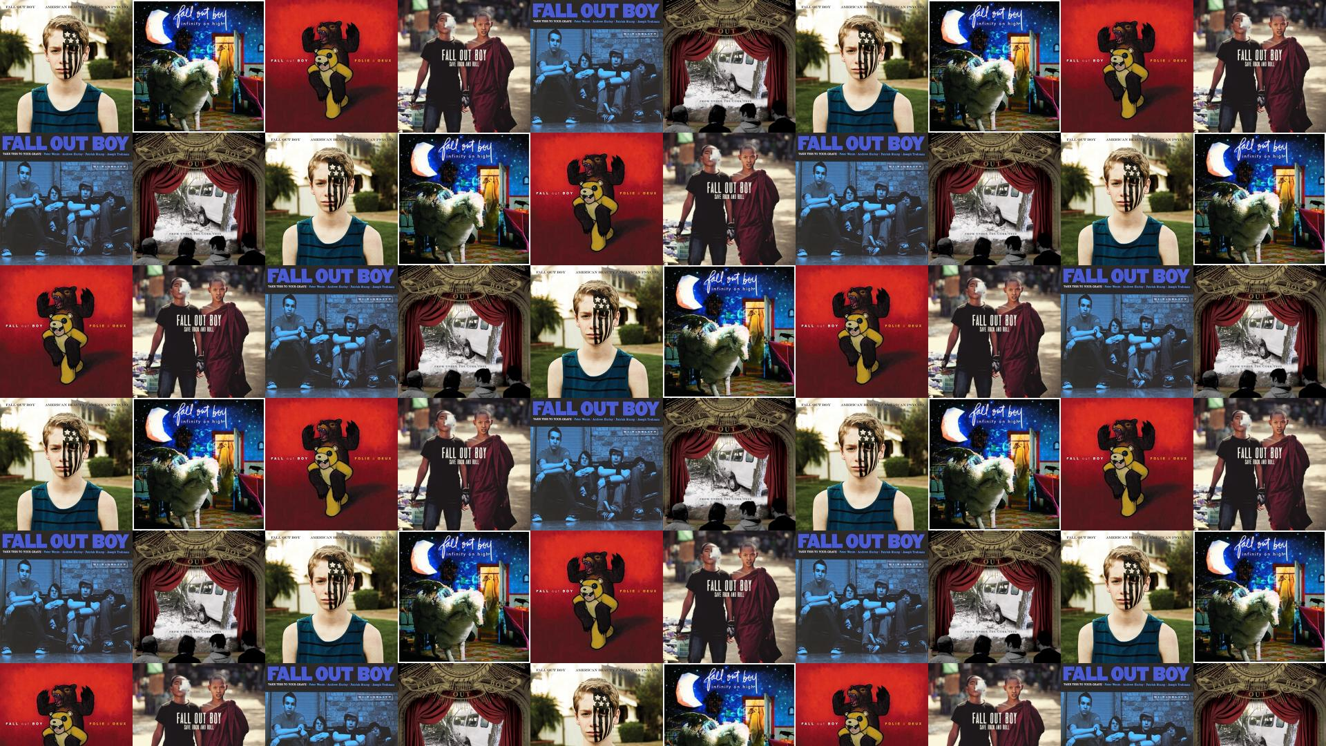 Fall Out Boy Infinity On High Folie Wallpaper « Tiled ...