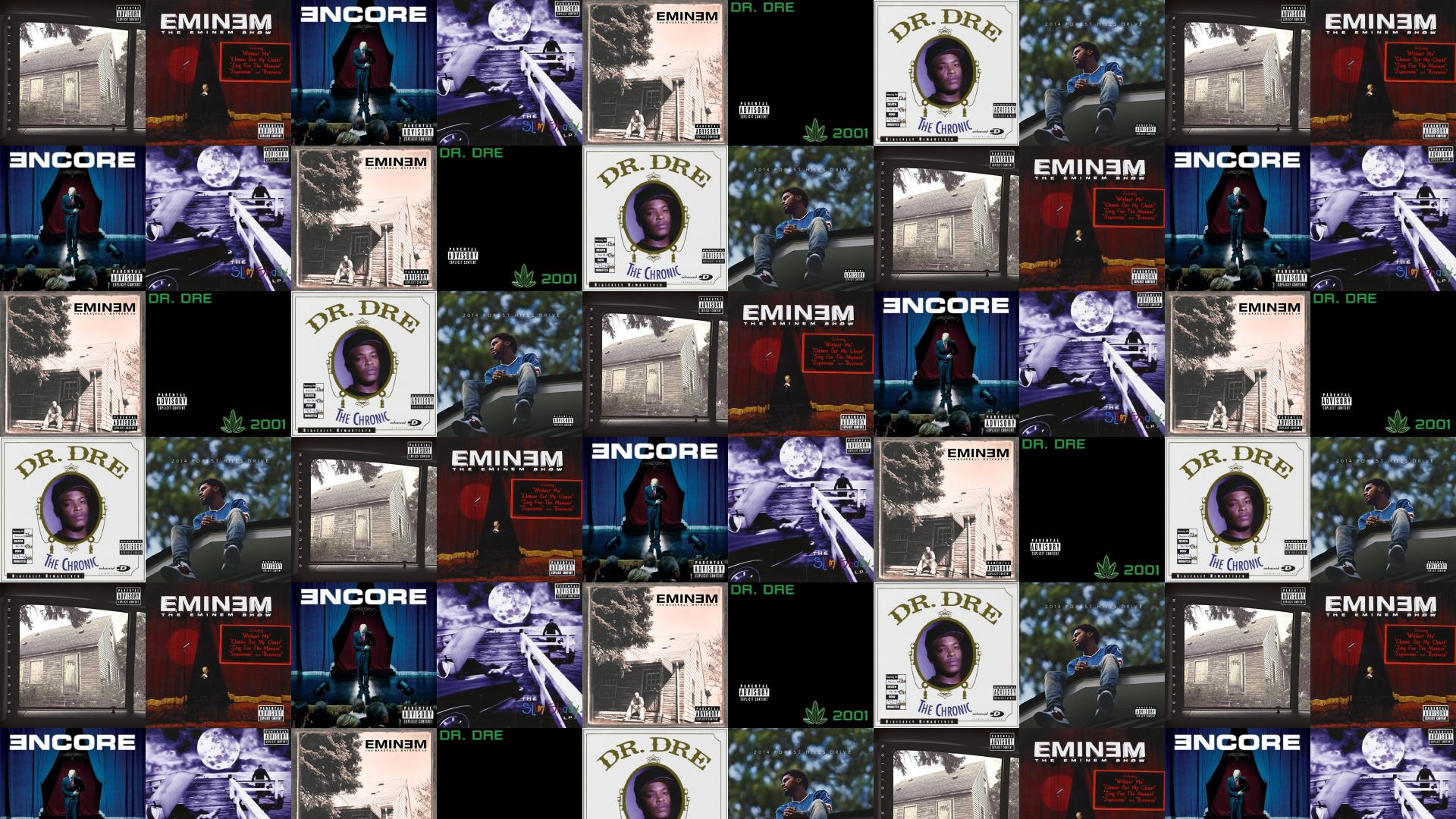 Eminem Marshal Mathers Lp Eminem Show Encore Slim Wallpaper « Tiled