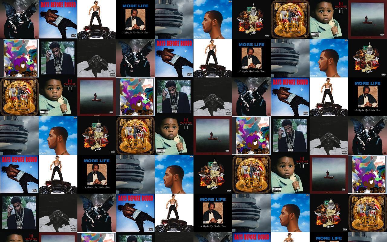 Comethazine tiled desktop wallpaper - Drake collage wallpaper ...