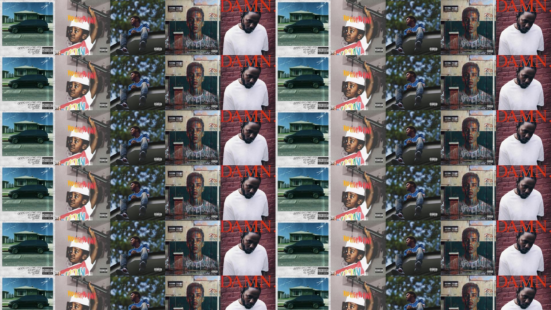 ec3225a0 Kendrick Lamar Good Kid M.A.A.D. City Bas Too Wallpaper « Tiled ...