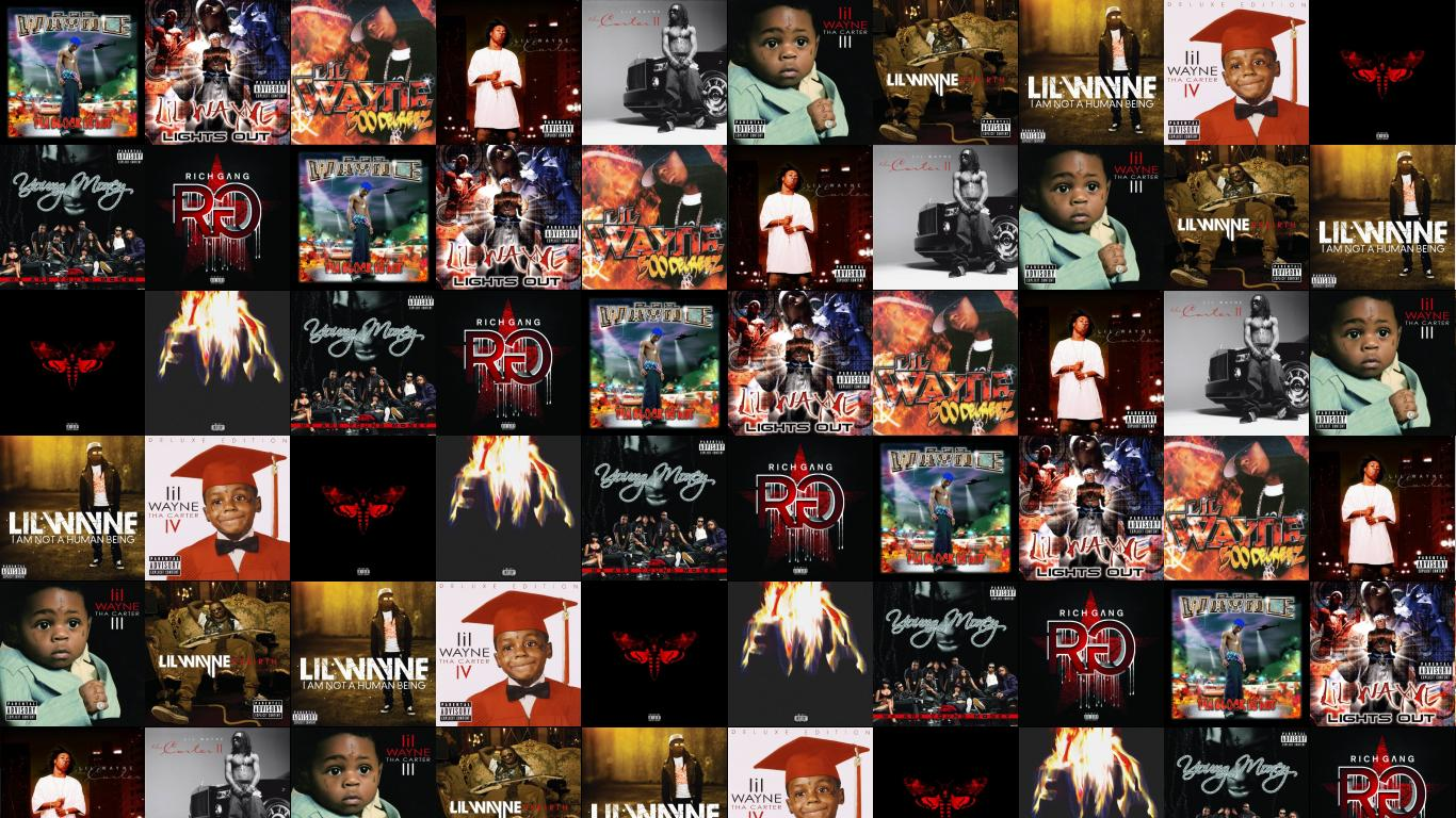 Download This Free Wallpaper With Images Of Tha Block Is Hot Lights Out Lil Wayne 500 Degreez Carter II