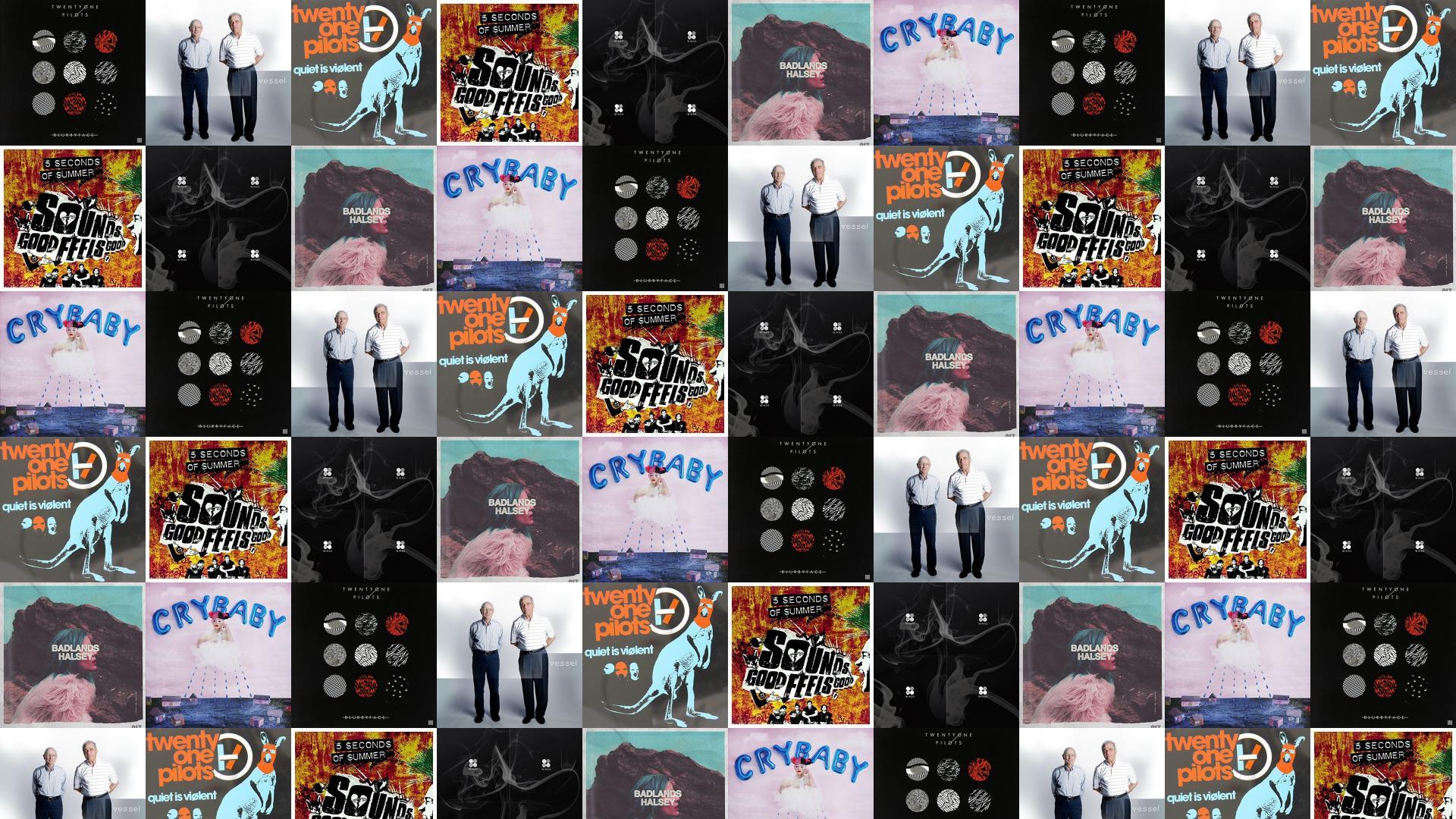 Twenty One Pilots Blurryface Vessel Quiet Violent Ep Wallpaper