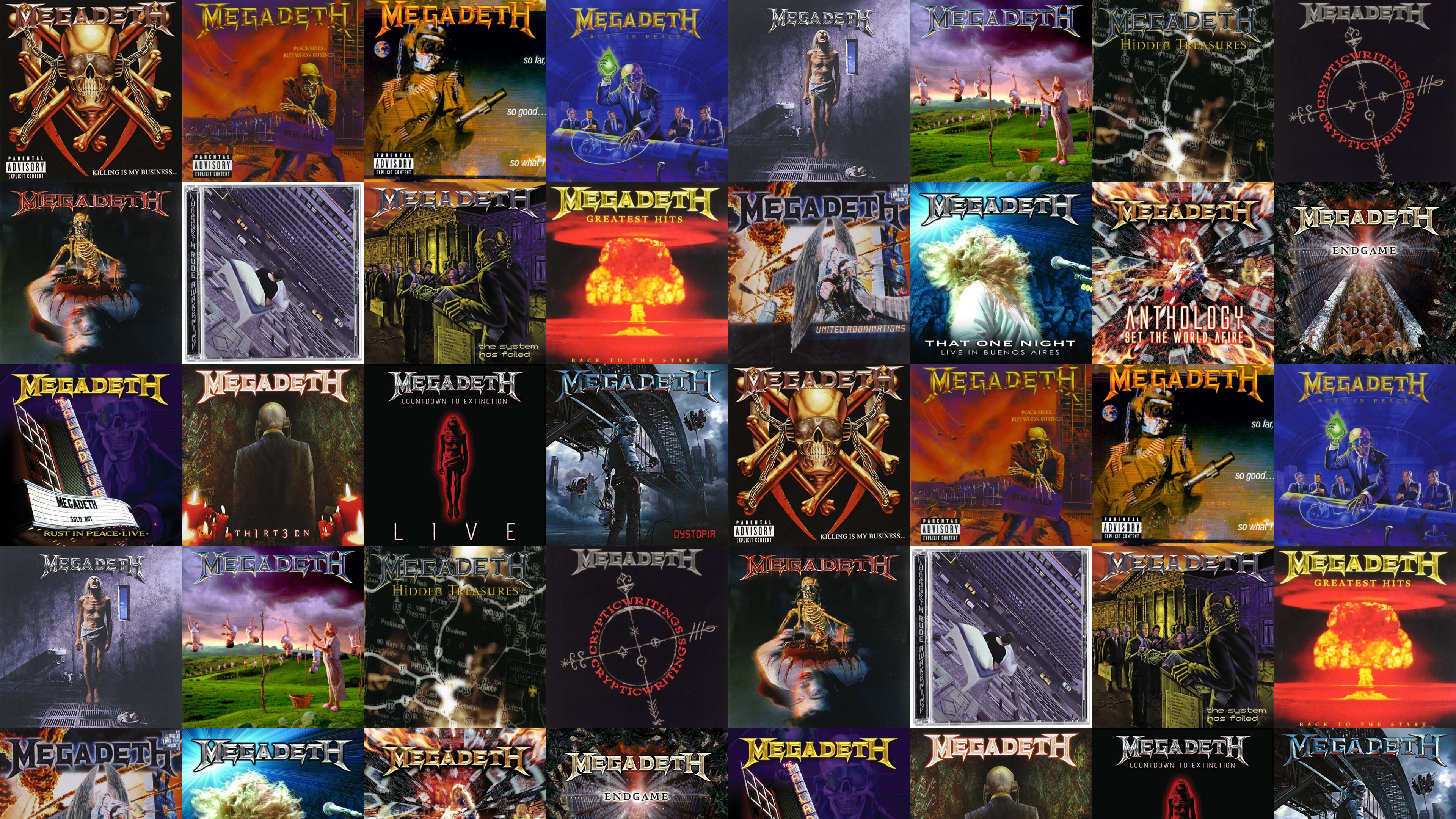 Megadeth Killing My Business And Business Good Peace Wallpaper